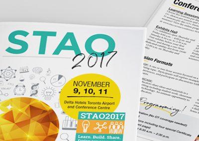 STAO2017 Pamphlet